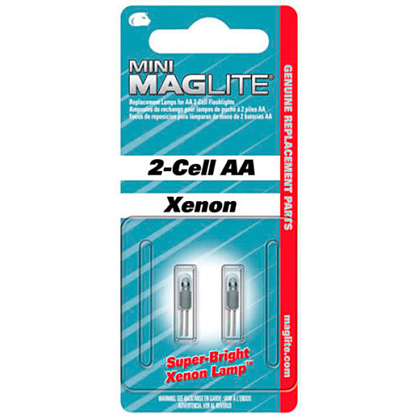 Replacement Bulb for Mini-Maglite 2 Pack
