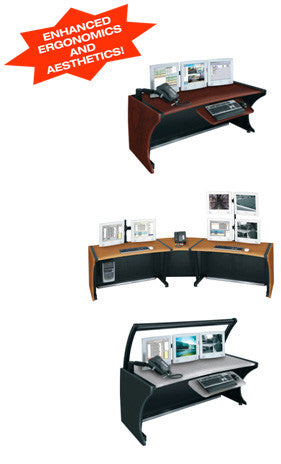 Middle Atlantic LD-4830PS LCD Monitoring Desk - 48W 30H Pepperstone