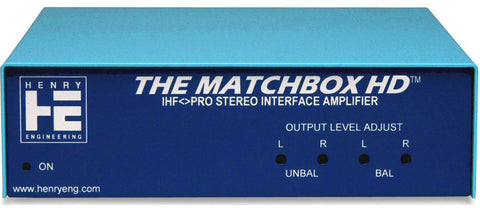 A high quality Image of Henry Engineering Matchbox HD Bi-Directional Stereo Level & Impedance Interface