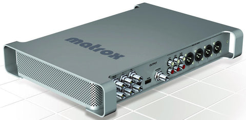 Matrox MXO2 MAX Complete Hi Def Portable I/O Mac Interface With MAX Technology