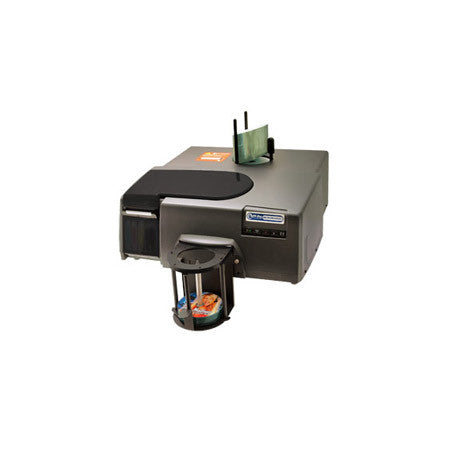 A high quality Image of Microboards PF-PRO Print Factory PRO Inkjet Automated 100-Disc Printer