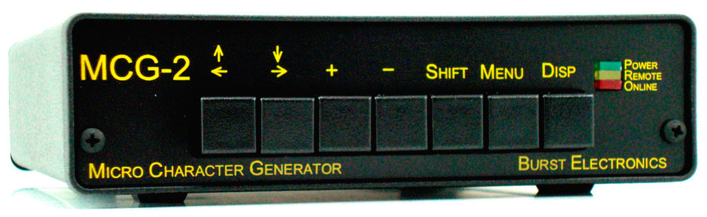 Burst MCG-2RTC Micro Character Generator with RealTime Clock