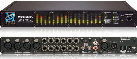 Metric Halo Mobile I/O 2882 Expanded Portable Digital Recording Interface