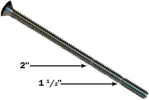 Midlite 212SBB 100 2.5in Breakaway Screws- Black