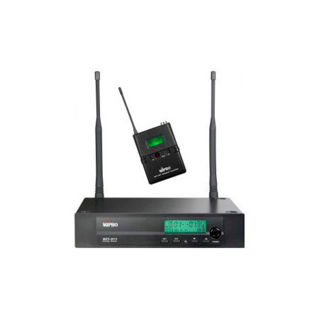 Mipro ACT-311/ACT-30T Single Channel Bodypack Wireless System -  6B Frequency