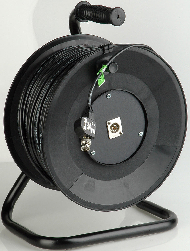 Cable Reel Connect-N-Go Reel Composite Video Over Belden 1583A Cat5e Cable 250FT