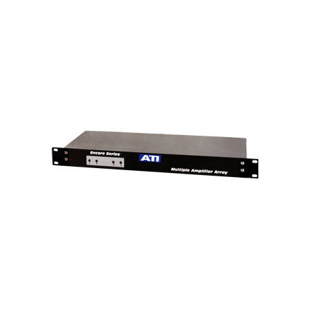 ATI Audio MLA400-2 4 CH Microphone to Line Amp with Active Balanced Output