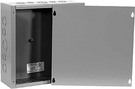 Milbank 12124-SC1 Surface Mount Indoor Type 1 Screw Cover Junction Box 12x12x4