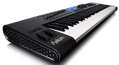 M-Audio Axiom 61 2nd Gen 61-key USB Mobile MIDI Controller Keyboard