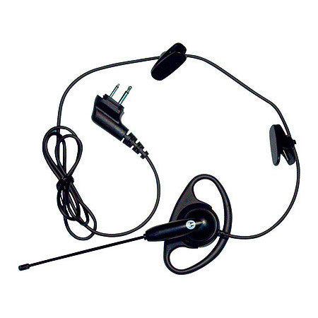 Motorola 56518 D-Ring Earpiece with Lightweight Boom Mic (VOX capable)