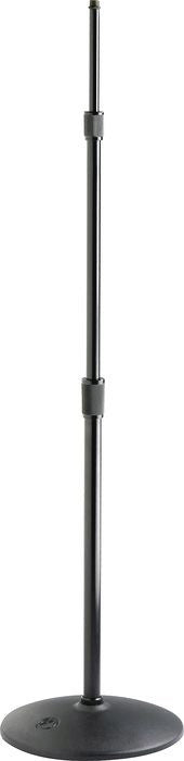 Atlas Sound MS43E Fully Adjustable 3 Section Ebony Microphone Stand