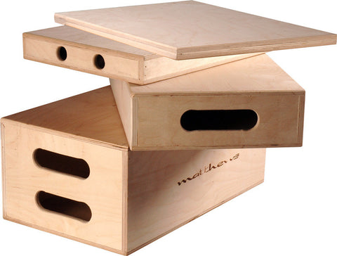 Matthews Heavy Duty Eighth Apple Box - 1inH x 12inW x 20inL