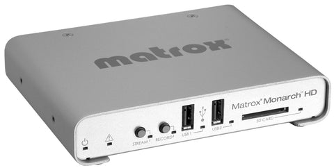 Matrox MHD/I Monarch HD Professional Video Streaming and Recording Appliance