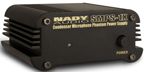 Nady SMPS-1X 1-Channel 48V Phantom Power Supply (for all SCM Series)