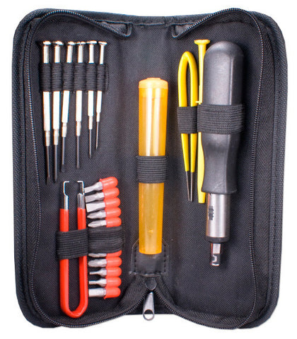 A high quality Image of 23 Piece Computer Maintenance Tool Kit with Precision Screwdrivers