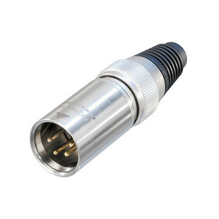 Neutrik NC4MX-HD Male 4-Pin Heavy Duty XLR Cable End Connector on