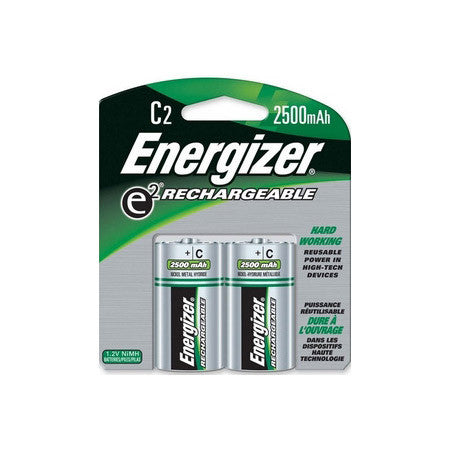 A high quality Image of Energizer NH35BP-2 C Size Nickel Metal Hydride Rechargeable Battery -2 Pack