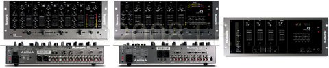 Numark C1 Three-Channel Rack Mixer with Mic Input