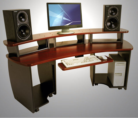 OmniDesk OMNI-MP Maple Audio Video Editing Desk