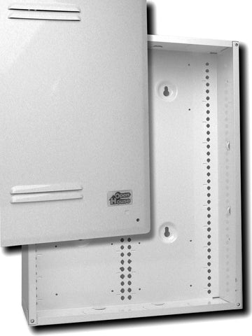 Open House H318 Stud/Surface Mount Grid Enclosure - White