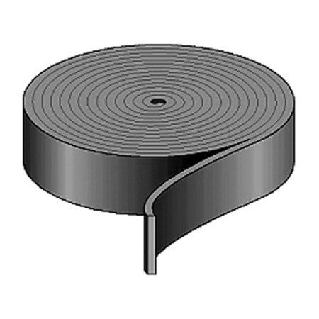 Penn Elcom 2119 1 Inch Wide Black Nylon Strapping 100FT Roll