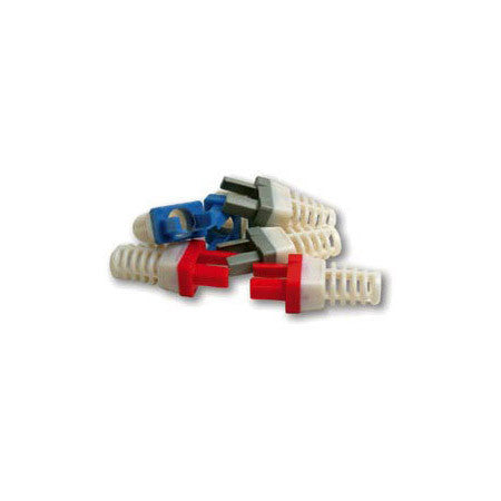 Platinum Tools 100030B-C Strain Relief for EZ-RJ45 Cat 6 Connector (50pc Blue)