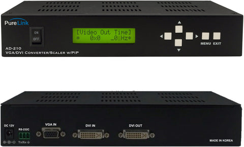 PureLink AD-210 (1) VGA or DVI Input to (1) DVI Output Format Converter