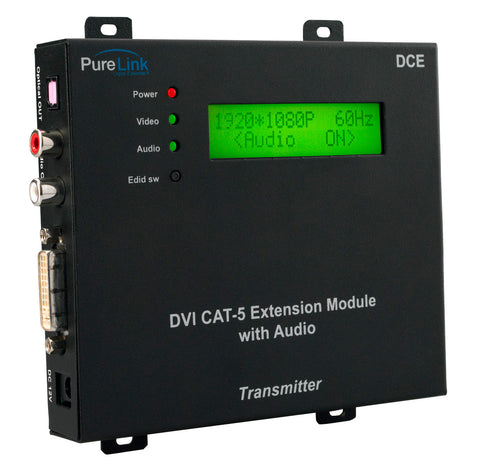 PureLink DCE Tx DVI to (1) CATx Transmitter