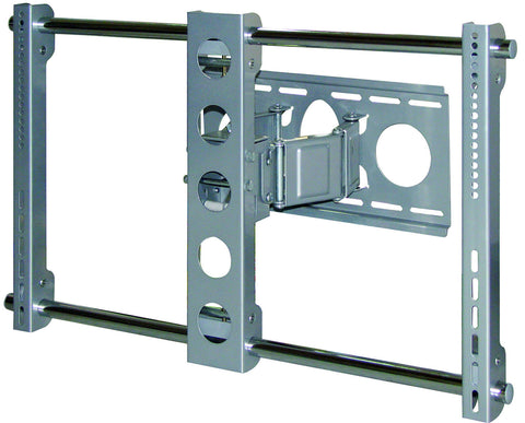 Bentley Mounts PLW-106S Articulating LCD Plasma 26-65 In Wall Mount (Silver)