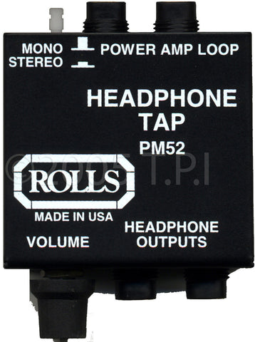 Rolls Headphone Tap