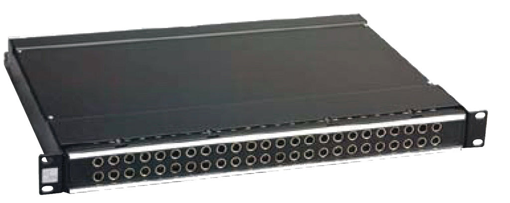 ADC-Commscope PPA3-14MKIINN ProPatch QCP II 2RU 2x24 Longframe Audio Patchbay Non-Normal