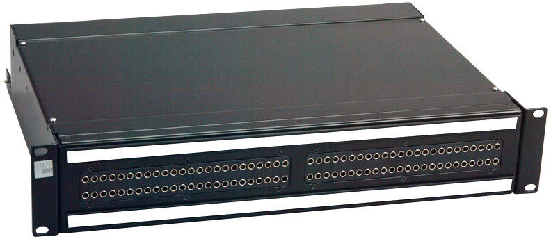 ADC-Commscope PPA3-14MKIINO ProPatch QCP II 2RU 2x24 Longframe Audio Patchbay Normals Out