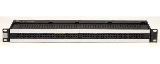 ADC-Commscope PPP1248-E3-NN-S 1RU 2x48 Bantam Patchbay Non-Normal w/EDAC 3-Pin & Mating