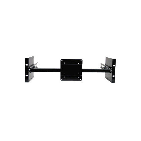 Recortec RMVM-219-75-100 VESA 75/100 Single Stationary Monitor Rack Mount For 19in Racks