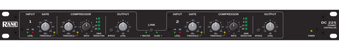 Rane DC 22S Dual Channel Active Stereo Compressor