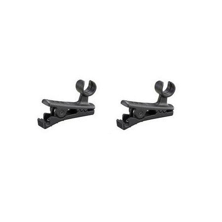 Sony Professional SADHV1B UWP Series Lavalier Microphone Clips (4 Pk)