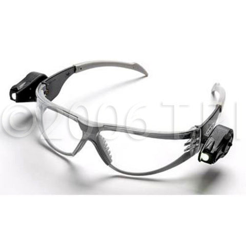 Light Vision Safety Clear Glasses with Built In Ultra-Bright LED Lighting