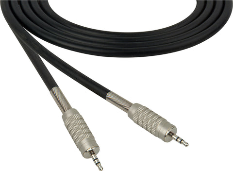 Canare Star-Quad Microphone Cable 3.5mm TRS Stereo Male to Male 100FT (Multiple Colors)