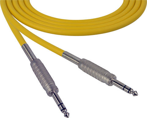 Canare Star-Quad Cable 1/4-Inch TRS Male to Male 100 Foot - Yellow - B-Stock (Used)