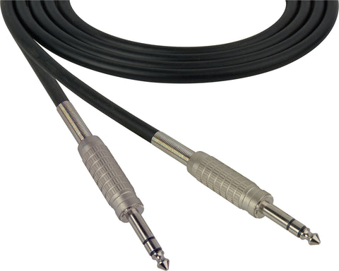 "Canare Star-Quad Microphone Cable 1/4"" TRS Male to Male 1.5FT (Multiple Colors)"