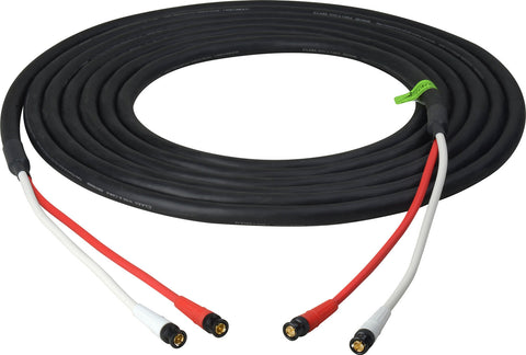 HD-SDI Dual BNC RG6 3D Camera Snake Cable 25FT