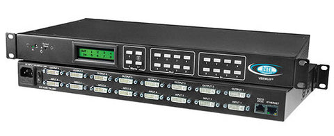 NTI SM-16X16-DVI-LCD DVI Video Matrix Switch
