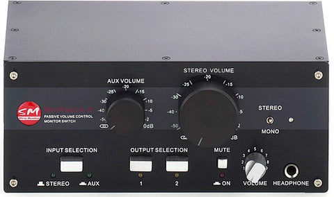SM Pro Audio M-Patch 2 Passive Volume Control / Switch Box