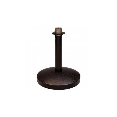 Superlux D-1 Desktop Microphone Stand - 4.7-Inch Round Base