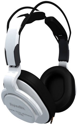 Superlux HD-661W Professional Closed-Back Headphones White