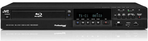 JVC Pro SR-HD1250US Blu-Ray and HDD Recording Deck with 250GB Hard Drive