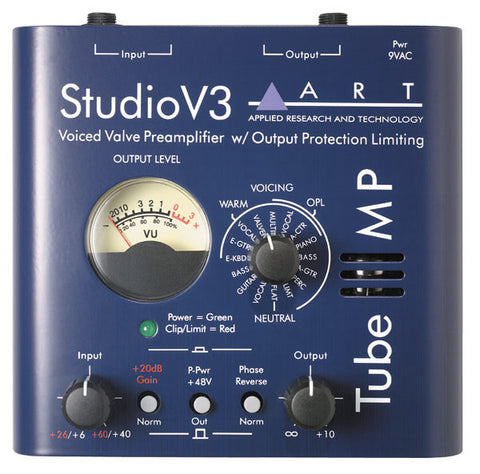 ART Tube Mic Preamp with V3