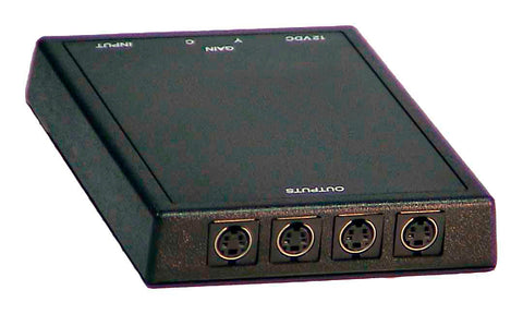 Inday SVDA-1 1x4 S-Video Distribution Amplifier