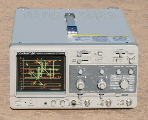 A high quality Image of Compuvideo Digital/Analog Component/Composite Waveform Monitor