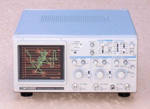 A high quality Image of Compuvideo Digital/Analog Waveform Monitor